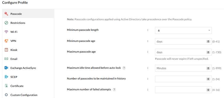 Laptop jako urządzenie mobilne. Konfiguracja profilu urządzenia wMobile Device Manager Plus