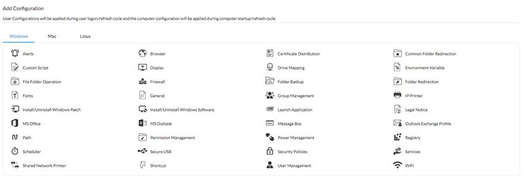 Konfiguracja Systemu ManageEngine Desktop Central